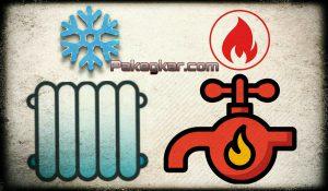 آب مصرفی گرم ولی رادیاتورها سرد میباشند
