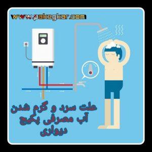 علت سرد و گرم شدن آب پکیج ایران رادیاتور