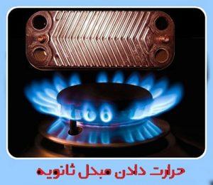 حرارت دادن مبدل ثانویه