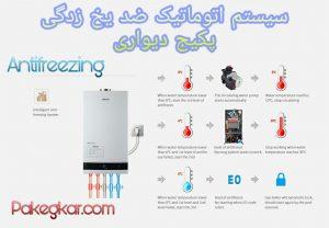 سیستم اتوماتیک ضد یخ زدگی پکیج